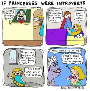 Image via @introvertdoodles