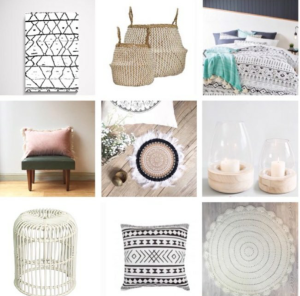 Boho homewares from $8! Image via @iheartbargains